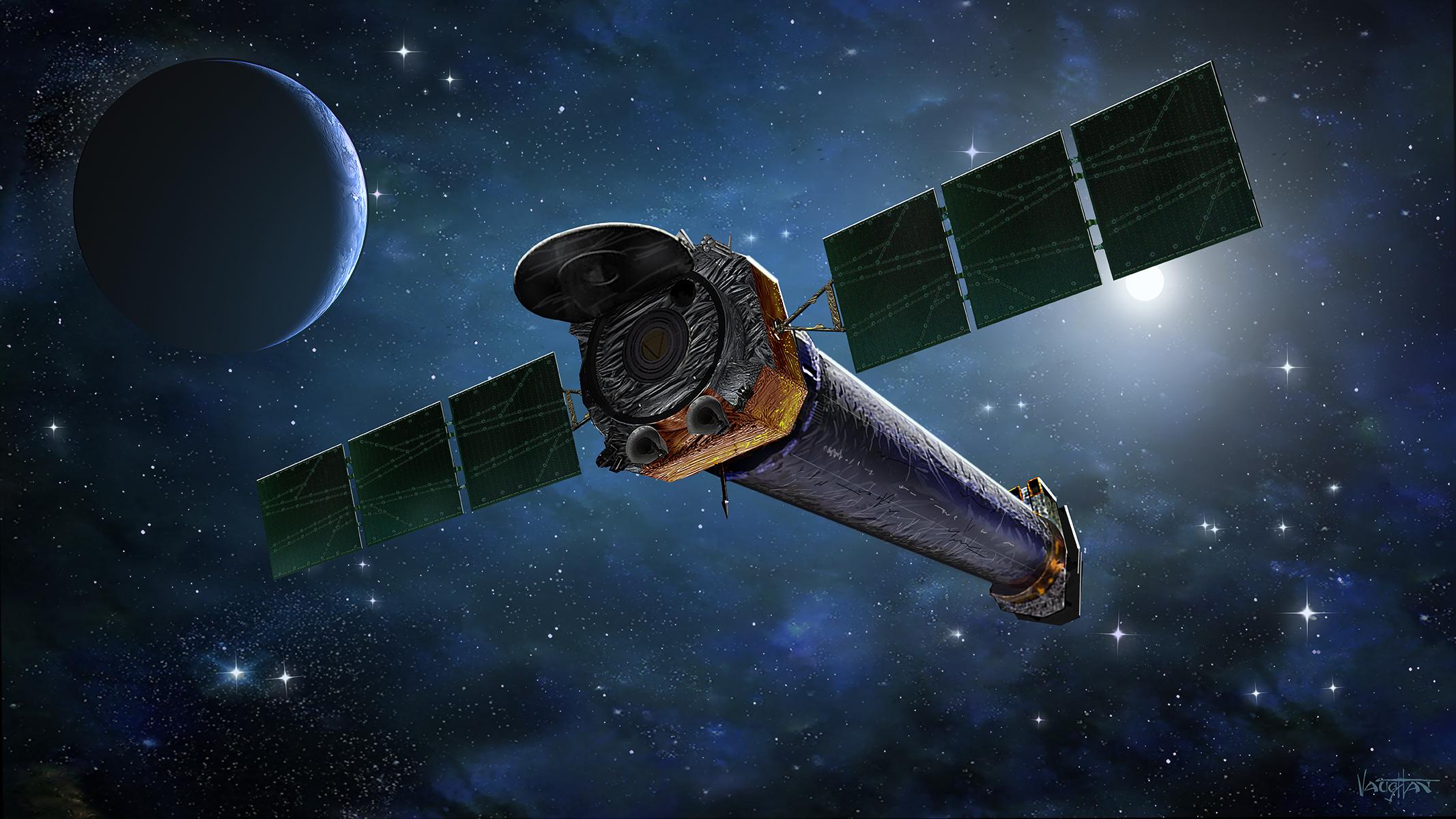 Chandra stále vakci. Kredit: NASA/CXC & J.Vaughan.