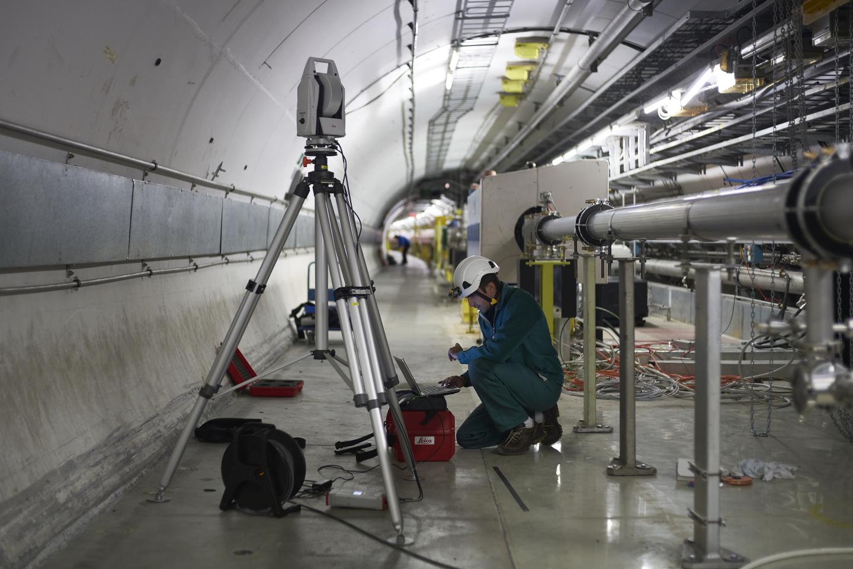 Super Proton Synchrotron (SPS). VCERNu se stále intenzivně pracuje a testuje. Kredit: CERN.