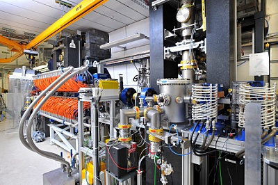 Zdroje terahertzového záření TELBE. Kredit: HZDR/F. Bierstedt.