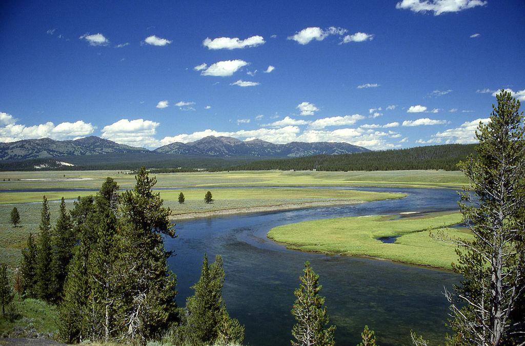 Yellowstone jako oáza klidu a míru. Kredit: Ed Austin / Herb Jones.
