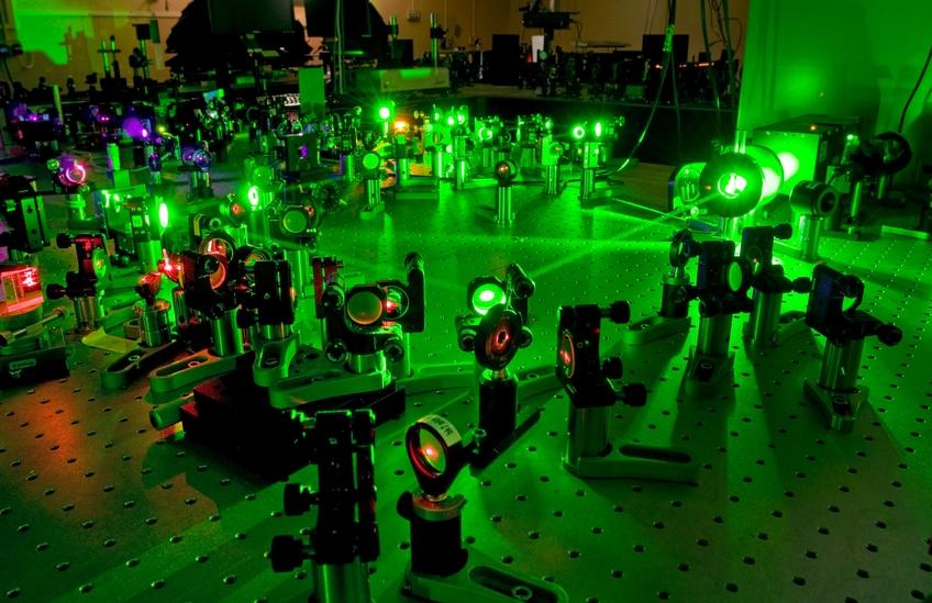 Central Laser Facility. Kredit: STFC.