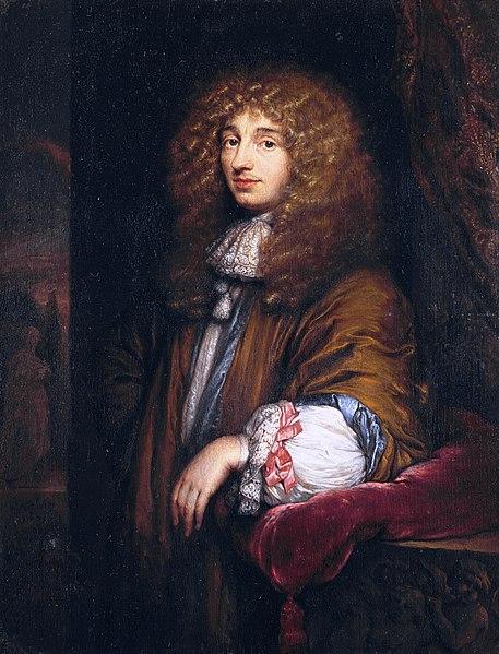 Christiaan Huygens na portrétu zroku 1671. Kredit: Caspar Netscher (circa 1639 –1684).