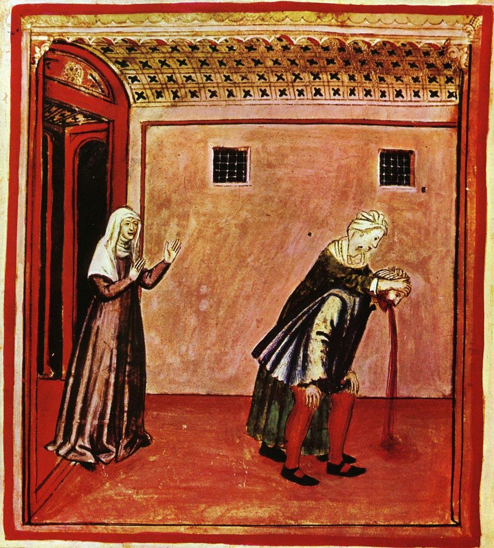 Tacuinum Sanitatis, 14. storočie. (en.wikipedia.org)