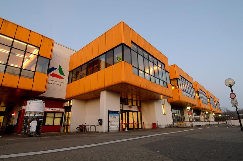 TU Dortmund. Kredit: Tuxyso / Wikimedia Commons.