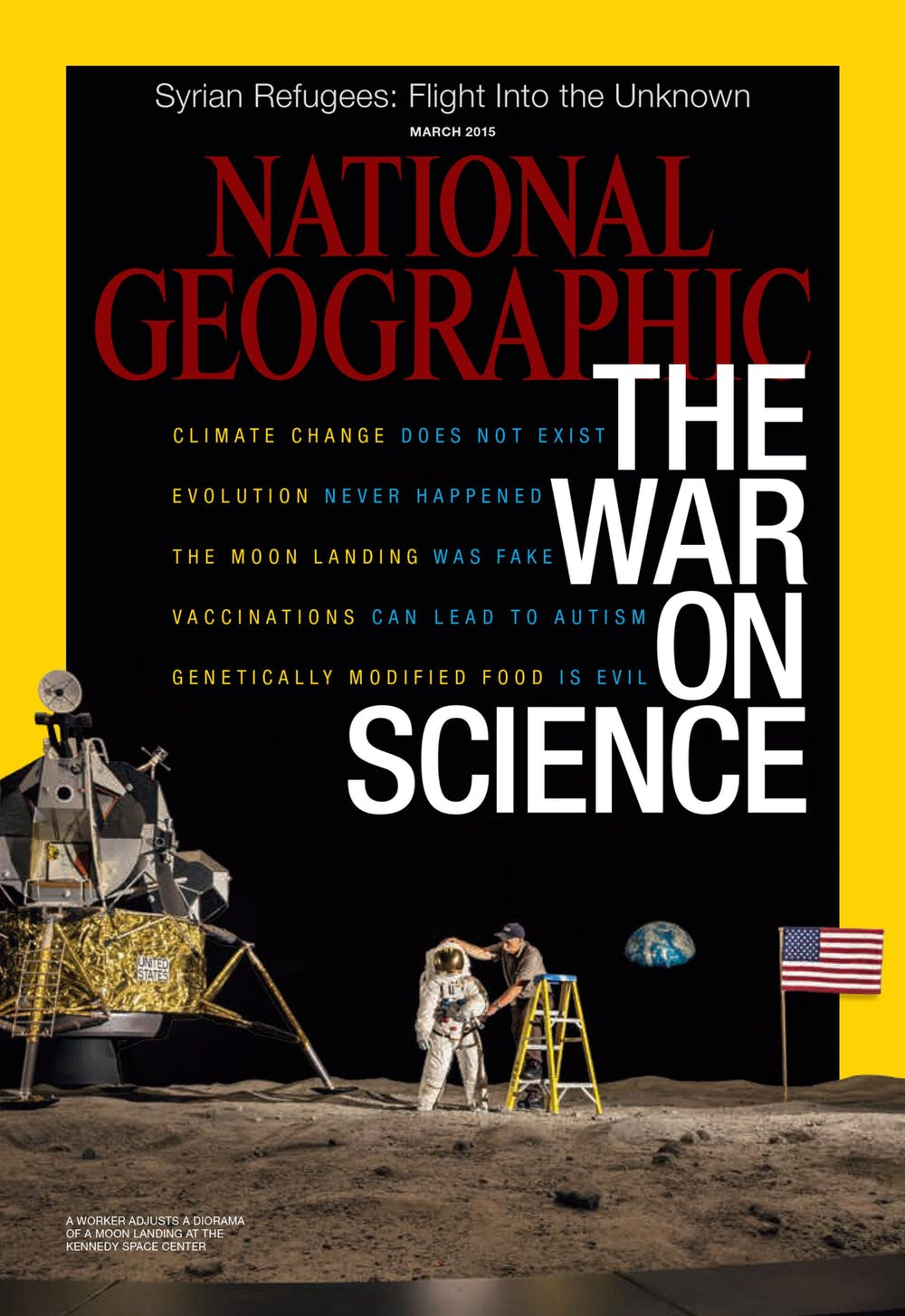 National Geographic, War of Science. Kredit: National Geographic.
