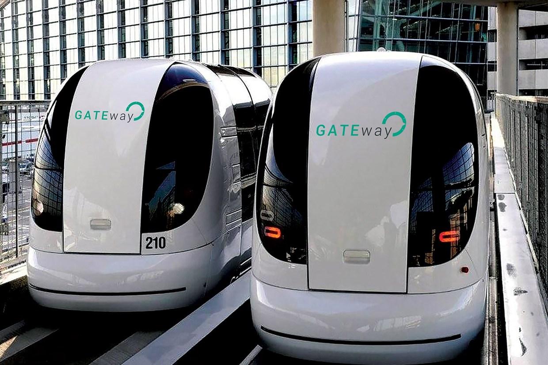 Autonomní kapsle pro provoz vLondýně. Kredit: GATEway Project.