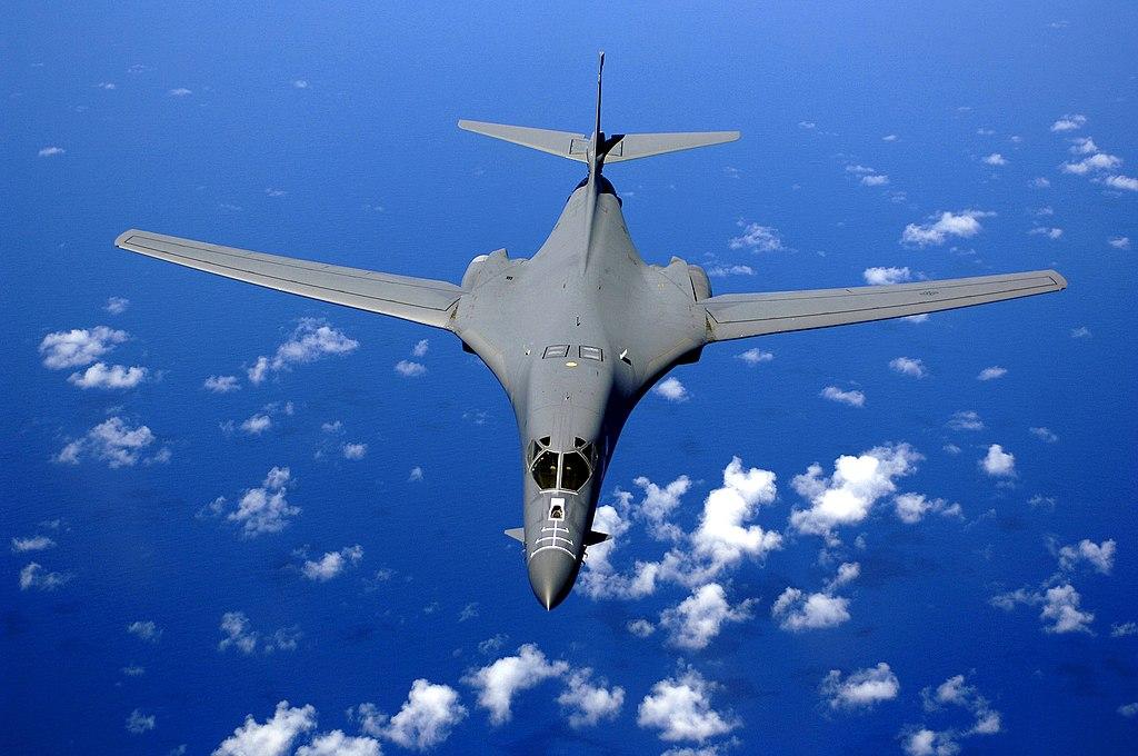 Rockwell B-1B Lancer. Kredit: U. S. Air Force.
