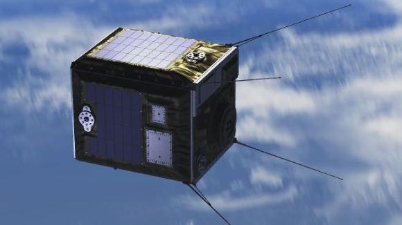 Satelit společnosti ALE. Kredit: YouTube/ALE Co. Ltd.