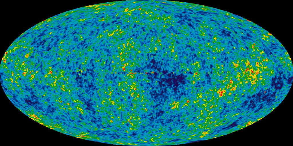 Ukrývá reliktní záření signály polí pradávného vesmíru? Kredit: NASA.