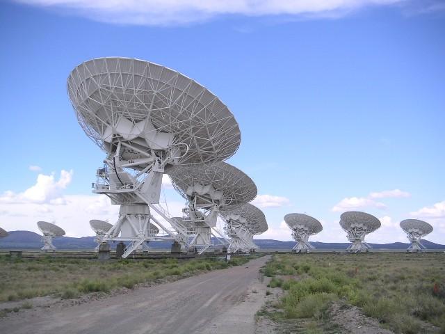 Karl G. Jansky Very Large Array, Socorro, New Mexico. Kredit: Hajor / Wikimedia Commons.