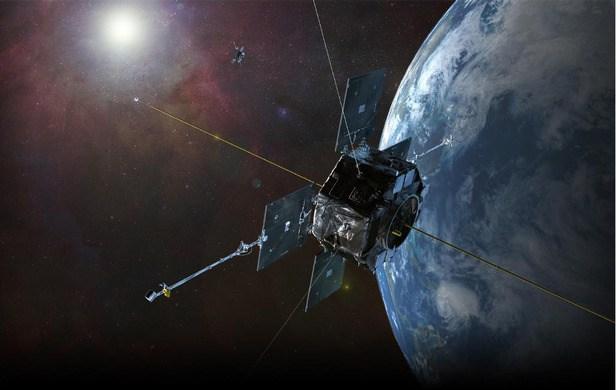 Jedna z družic Van Allen Probe. Zdroj: http://cdn.ientry.com/