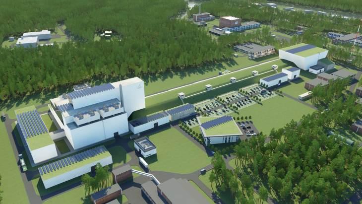 Vizualizace budoucího reaktoru MYRRHA (zdroj SCK-CEN).