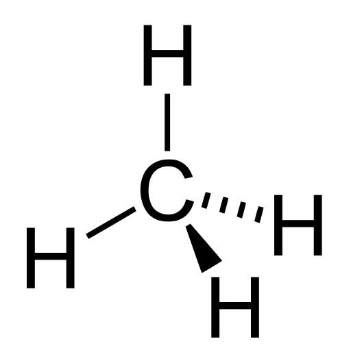 """Metan, methana podle systematického názvoslovíkarban, je  z pohledu zachycování tepla v atmosféře 34krát """"silnějším oteplovačem"""", než jakým je oxid uhličitý."""