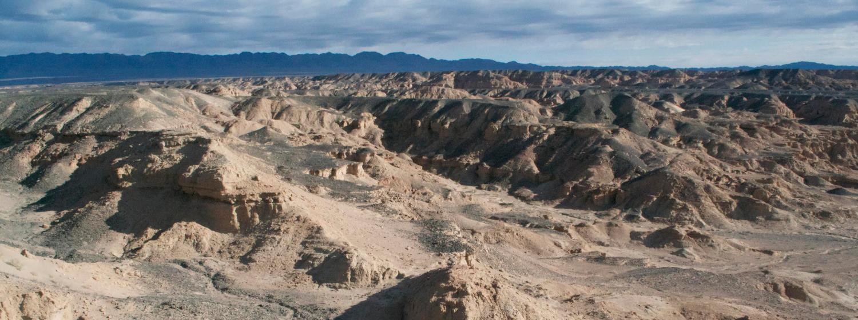 1 300 000 kilometrů čtverečních pouště časem jistě vydá mnohá další překvapení. (Kredit:  Mongolian Paleontological Center)