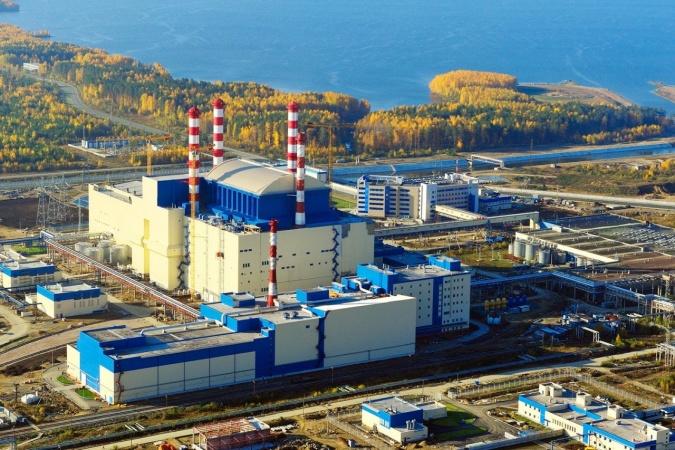 Pohled na čtvrtý blok Bělojarské jaderné elektrárny, kterým je rychlý sodíkový reaktor BN-800 (zdroj Rosatom).