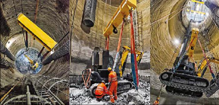 Přípravné práce pro vylepšení na HL-LHC probíhají už v současné přestávce (zdroj CERN).
