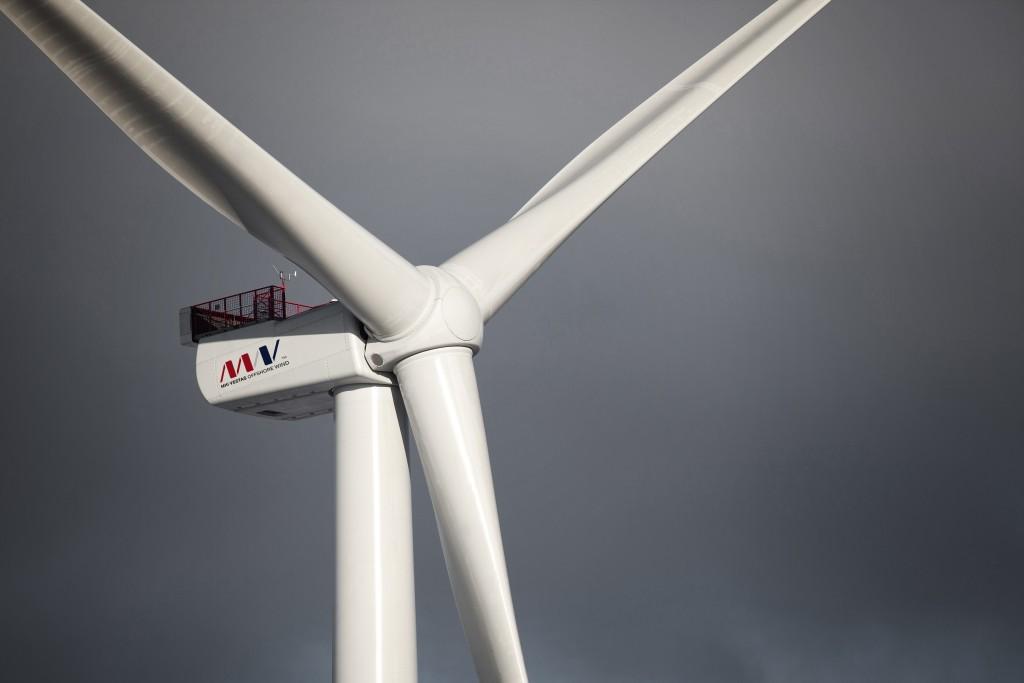 Turbína Vestas V164-8.0 MW s výkonem 8 MW (zdroj MHI Vestas Offshore Wind).