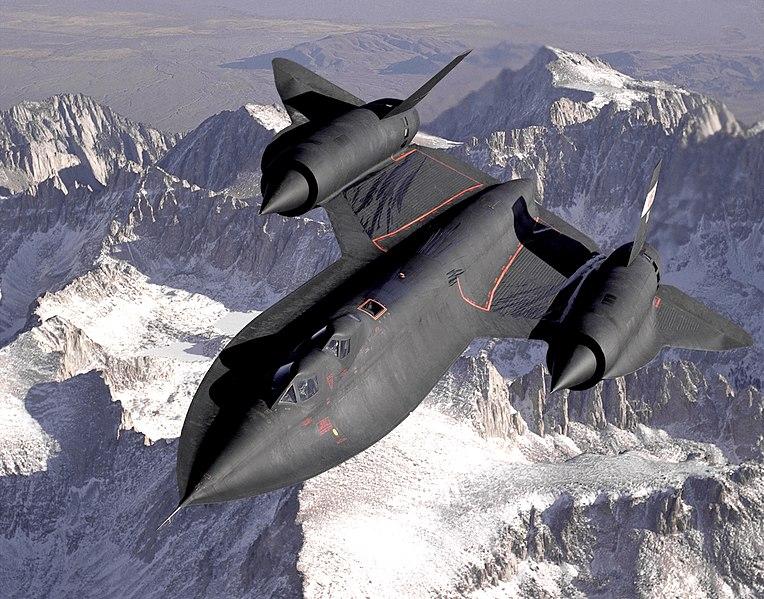 SR-71 Blackbird. Kredit: USAF / Judson Brohmer.