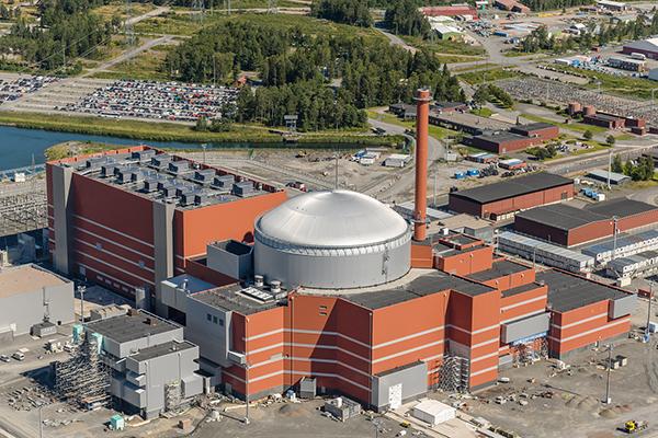 Jaderný blok Olkiluoto 3 s reaktorem EPR by měl být uvedeno do provozu v roce 2018 (zdroj TVO).