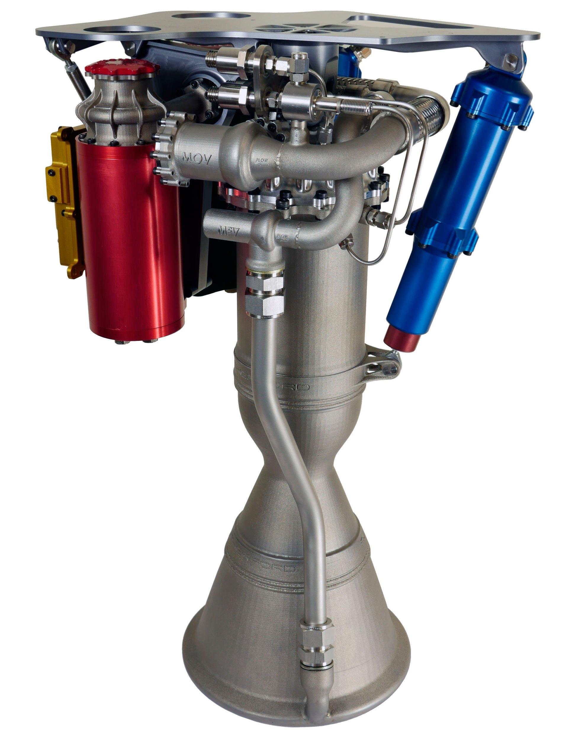 Motor Rutherford. Zdroj: http://spaceflight101.com/