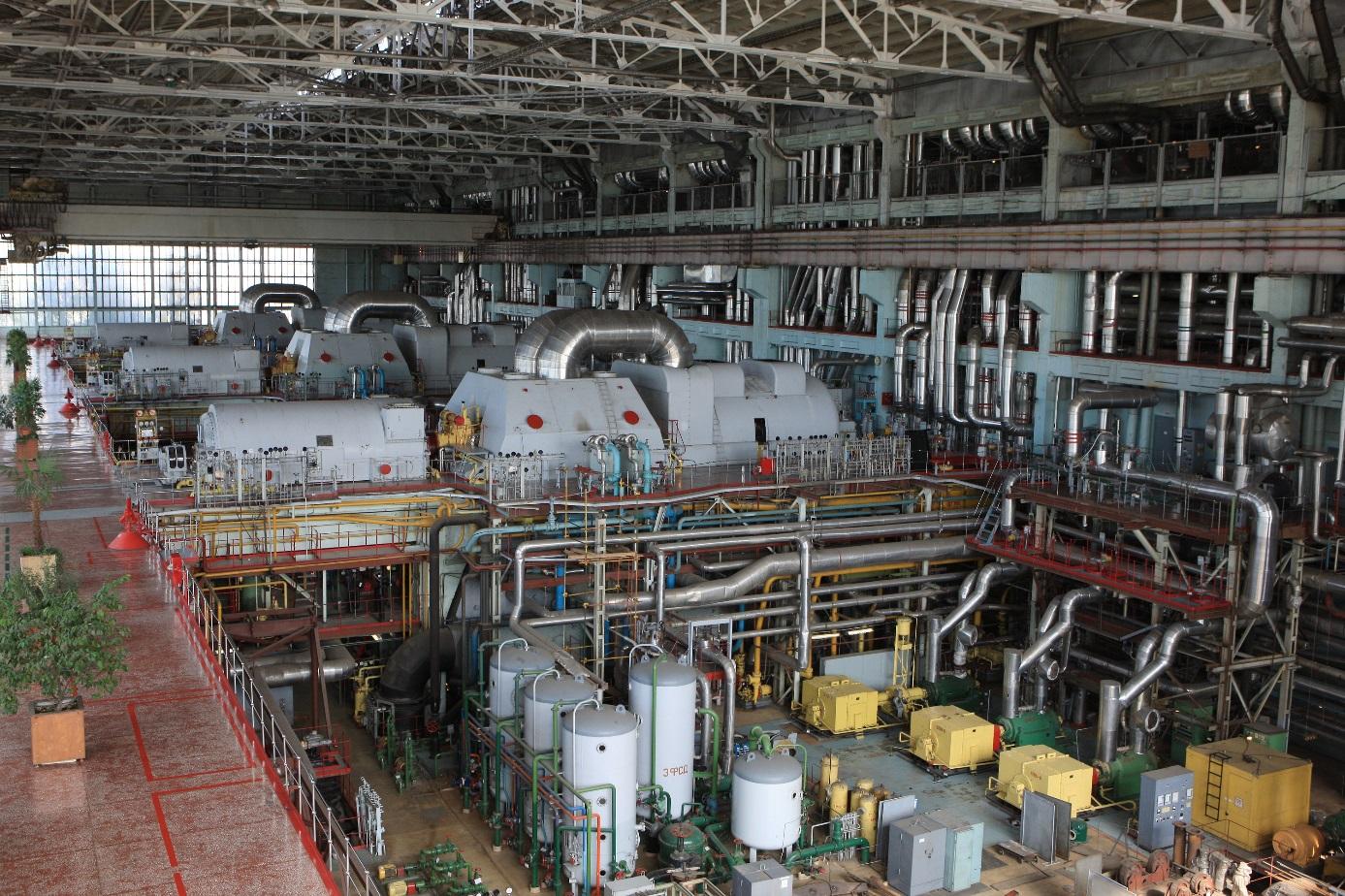 Strojovna rychlého reaktoru (zdroj Rosatom).