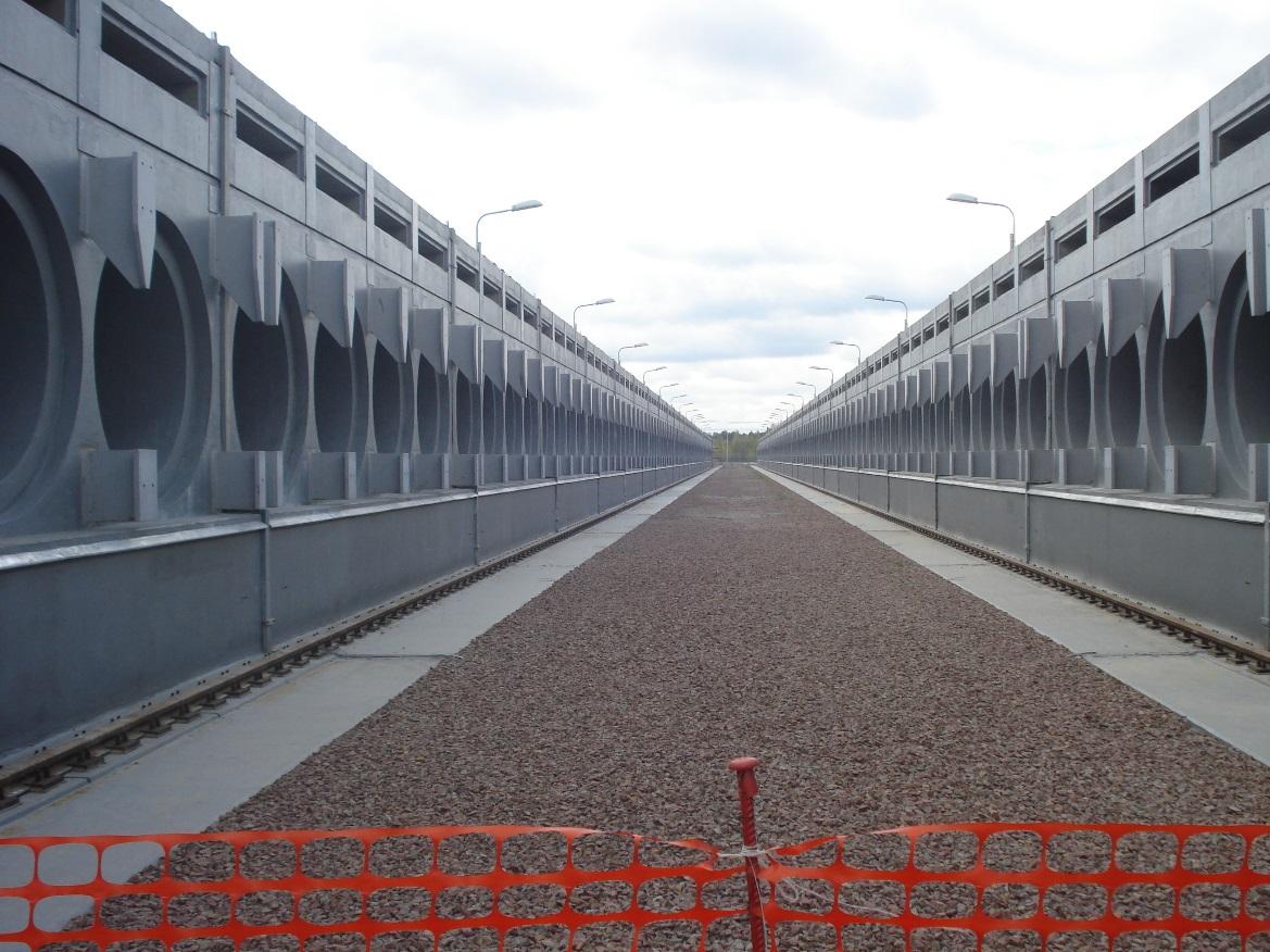 Nový suchý mezisklad, do kterého se už brzy budou ukládat kontejnery s palivovými soubory.