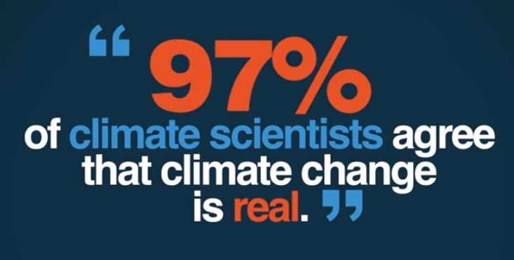 Většina klimatologů zastává názor, že lidmi produkovaný oxid uhličitý má na klima velký vliv a že jeho masivní produkce už začala Zemi nebezpečně oteplovat. Ti, co jsou jiného názoru, jsou v těžké defenzivě. Možná právě proto, jako reakce na výsledky