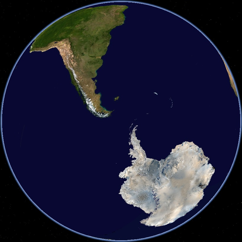 Antarktický kontinent měl podle prognóz hladinu oceánu zvyšovat. Ve sutečnosti ji snižoval a to o 0,23 milimetrů za rok (Journal of Glaciology, 2015) Kredit foto: Wikimedia Commons)