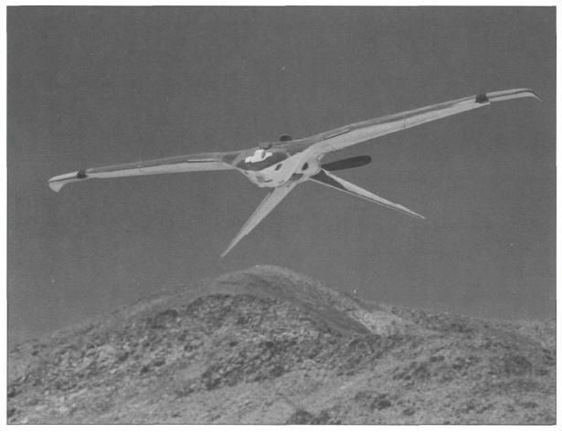 Jaderný pták Aquiline. Kredit: CIA.