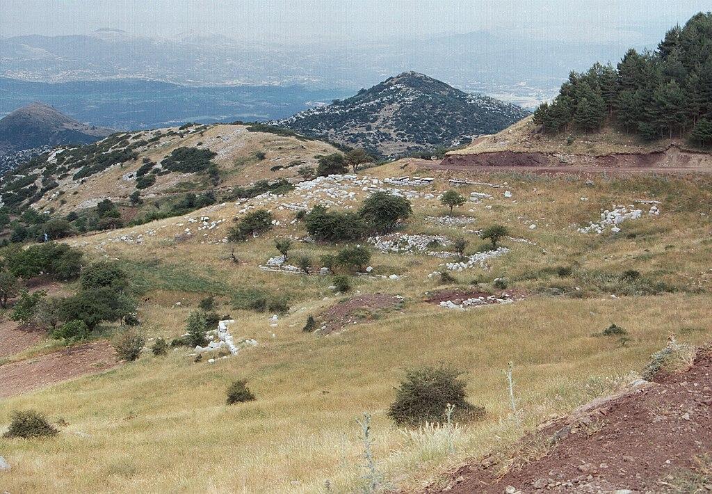 Antické Lykaion. Kredit: Zde, Wikimedia Commons.