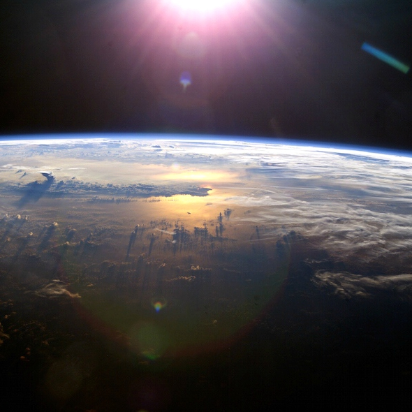 Jak by fungovaly diamanty na obloze? Kredit: NASA.