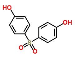 Najdeme jej také pod označením: 4,4'-Sulphonyldiphenol ; 1, 1'-Sulfonylbis[4-hydroxybenzene] ;  4,4'-Dihydroxydiphenyl Sulfone ;  O2S(C6H4OH)2