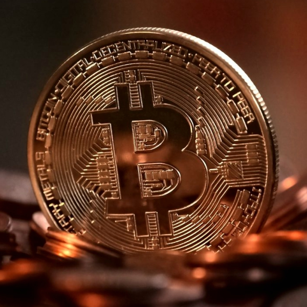 Bitcoin. Aktuální hodnota kolem 7500 dolarů. Kredit: Macquarie University.