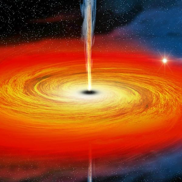 Je tam singularita nebo není? Kredit: NASA/CXC/M.Weiss