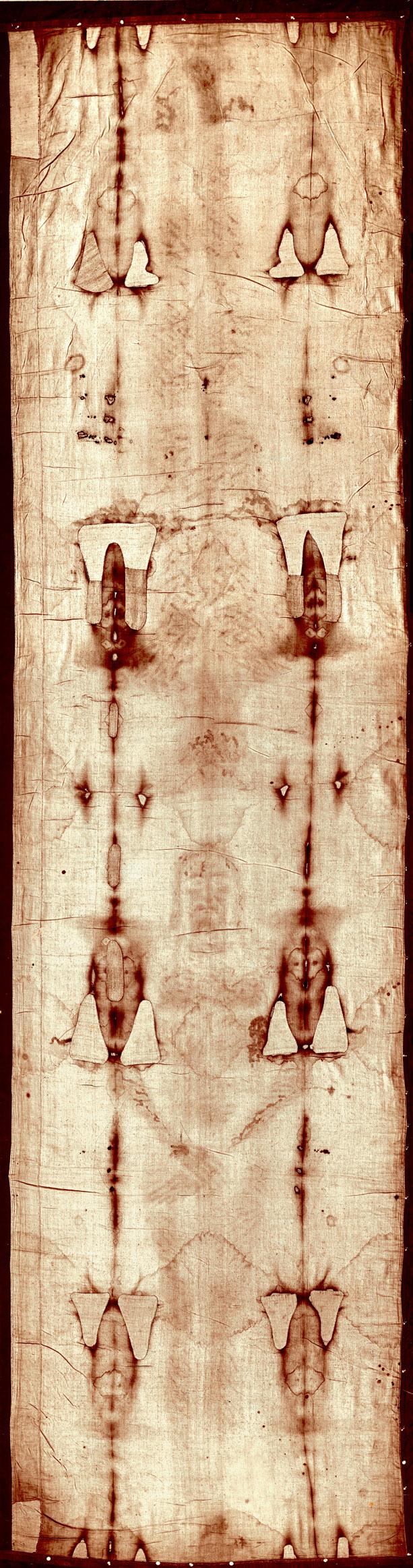 Cellé Turínské plátno. Foto: Giuseppe Enrie, Volné dílo.