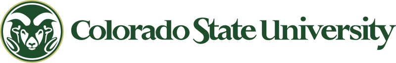 Logo Colorado State University.