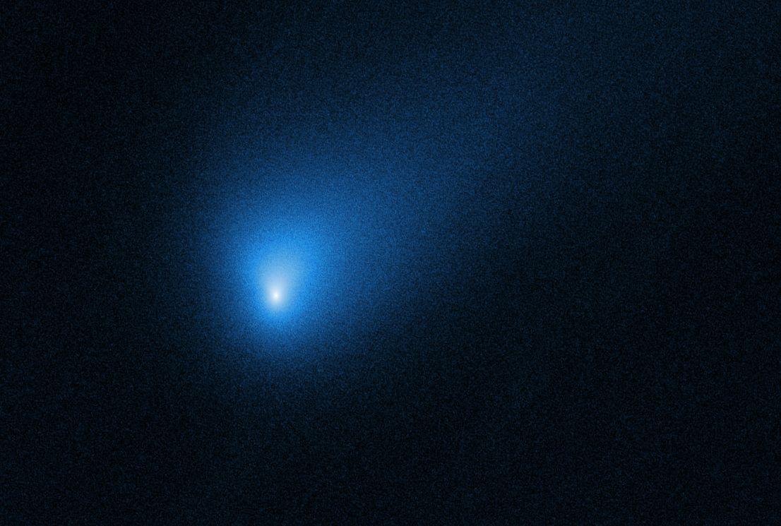 Kometa 2I/Borisov. Kredit: NASA.