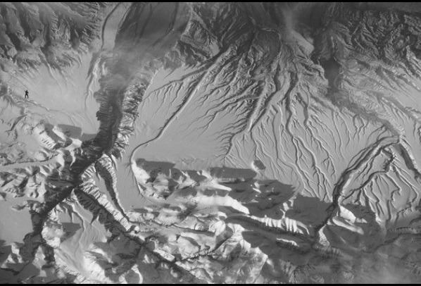 Kdepak je kosmická gorila? Kredit: FECYT / NASA.
