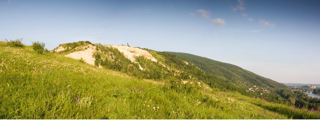 Přírodní rezervace v Devínské Nové Vsi (Slovensko). Kredit V. Tóth.