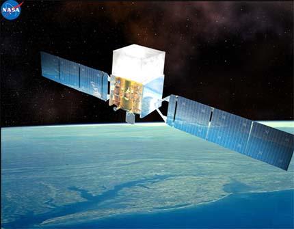 Družice FERMI (zdroj NASA).