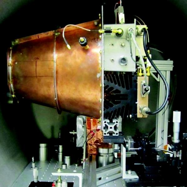 EM pohon v experimentu NASA. Kredit: NASA.