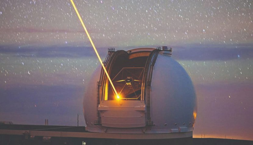 EOS bude pálit laserem na orbitu. Kredit: EOS Space Systems.