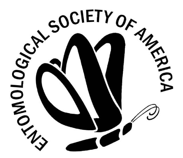 Začátky největší světové entomologické společnosti sahají do roku 1889. Logo. Kredit: ESA.