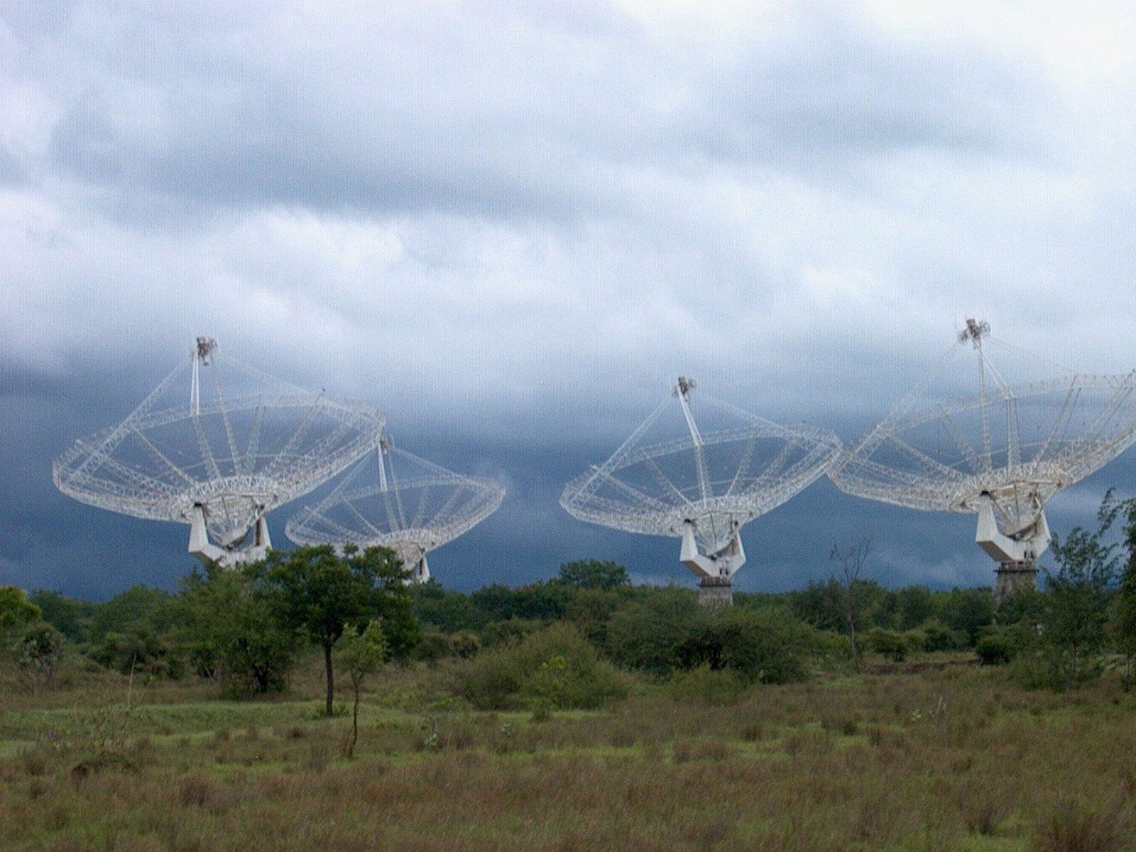 Giant Meterwave Radio Telescope. Zdroj: http://www.setileague.org/