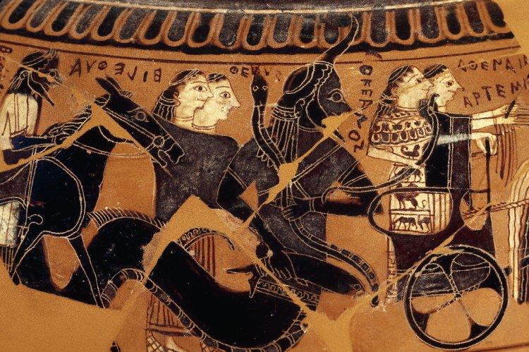 """Ókeanos """"jenž první ploditi začal"""", 590 před n. l. Britské muzeum 1971.11-1.1. Kredit: Trustees of the British Museum via Wikimedia Commons."""