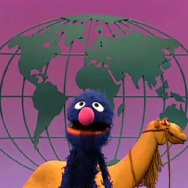 Podmaní si GROVER celý svět? Kredit: Sesame Workshop.
