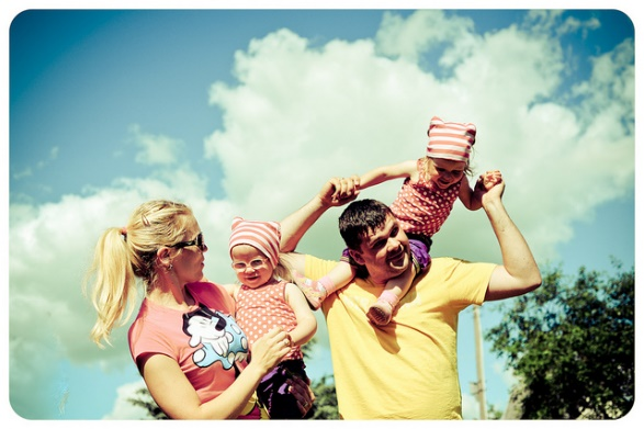 Šťastná rodina odArentas. LicenceCC BY 2.0.