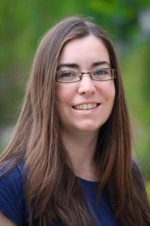 Helen Harwatt, výzkumná pracovnice School of Public Health, Loma Linda University, San Bernardino, USA. Je první autorkou studie, která jako první na světě luštěniny ukázala pojímá ve světle klimatických změn, příznivě. (Kredit: School of Public Heal