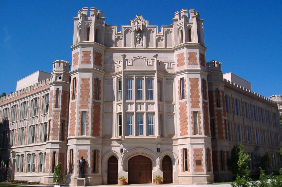 University of Oklahoma. Kredit: Andrew Goidell / Wikimedia Commons.