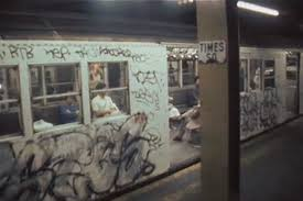 Metro v New Yorku v osemdesiatych rokoch: obrázok z filmu